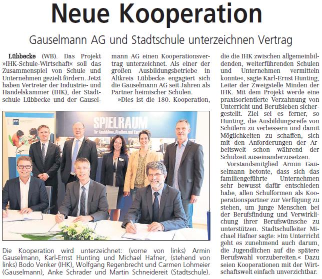 Kooperation Gauselmann